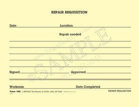 repair requisition