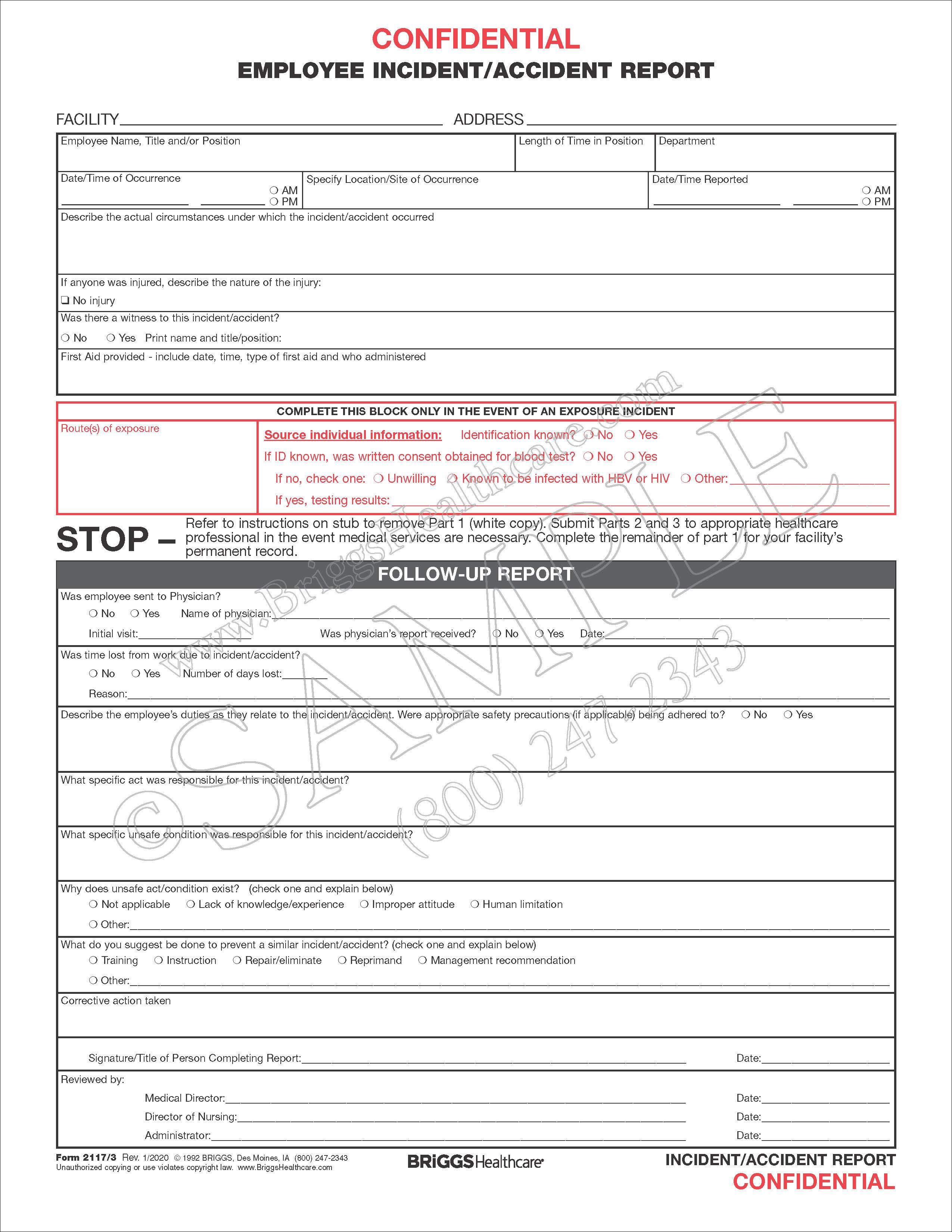 employee incident  accident report 3