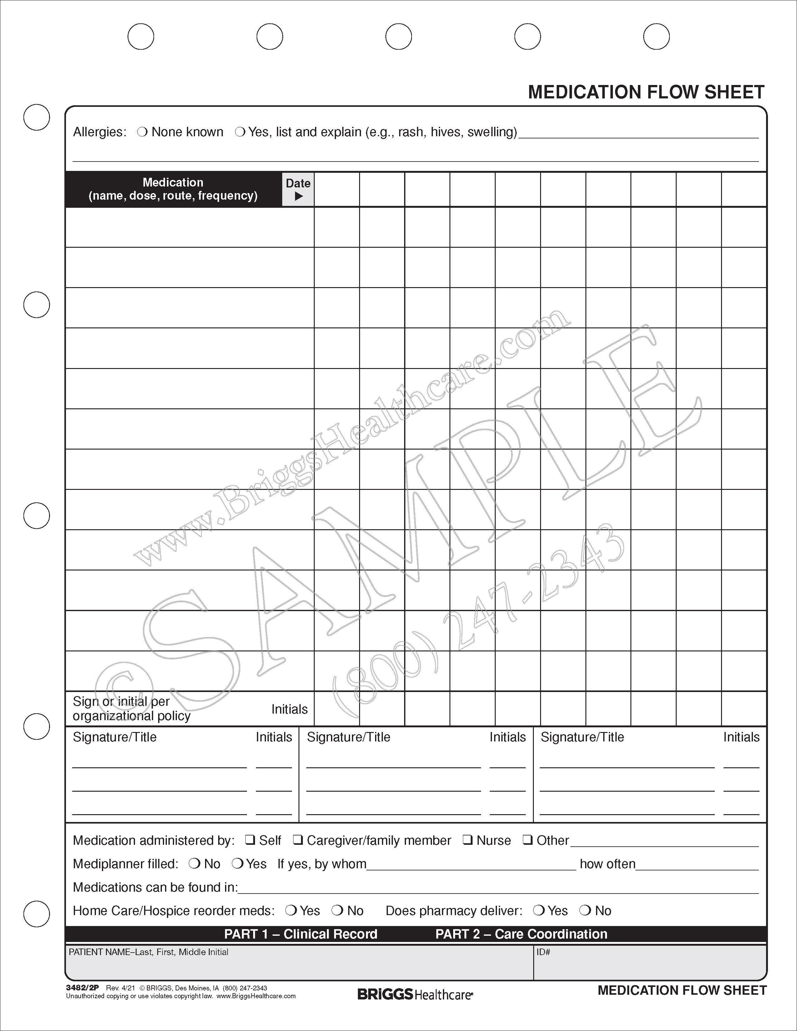 medication flow sheet - Ataum berglauf-verband com