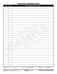 physicians progress notes form