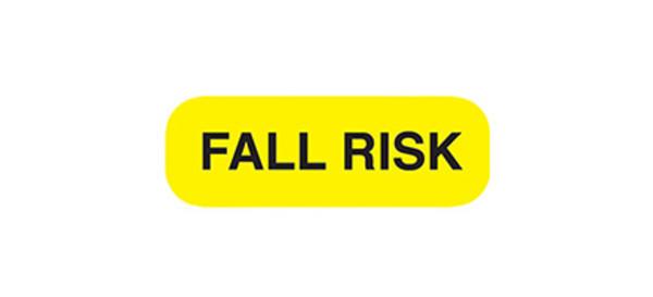 Chart Label Fall Risk
